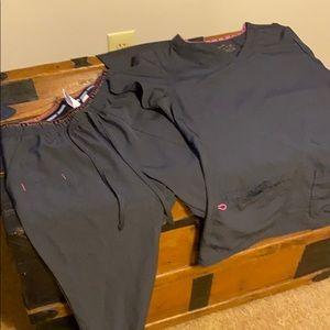 Heartsoul scrub set-medium top, small pants